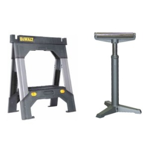Sawhorses and Roller Stands