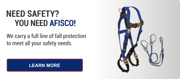 Fall Protection at AFISCO Industrial