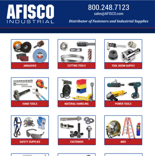 AFISCO Industrial - Line Sheet