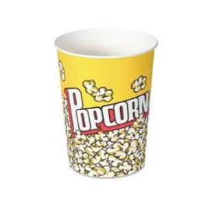 32 Oz. Popcorn Tub with Popcorn Design