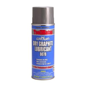 Aervoe Crown® #8078 Dry Graphite Lubricant and Parting Compound
