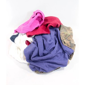 Assorted Colored Sweatshirt Rags