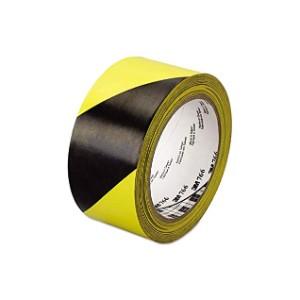 Striped Hazard Warning Tape
