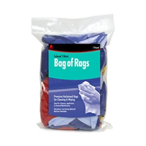 Buffalo Industries Recycled Microfiber Colored Cloth Rags