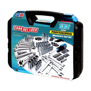 Channellock 132 Piece Mechanic's Tool Set