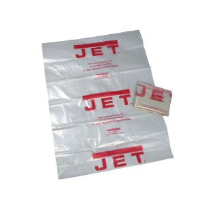 Jet® Industrial Clear Plastic Collection Bags