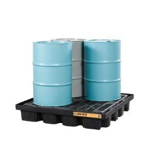 Justrite® EcoPolyBlend™ Low Line Drum Pallets