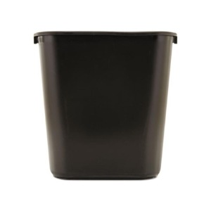 28 Quart Soft Molded Plastic Wastebaskets