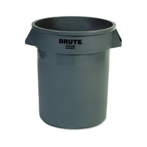 Rubbermaid® Round Brute® Containers (Trash Cans)