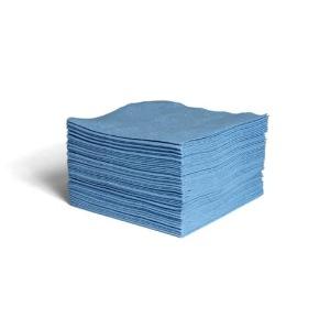 Spunlace (HEF) Fabric Blue Smooth Wipes