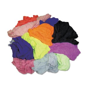 T-Shirt New Colored Rags - Medium Sweeping
