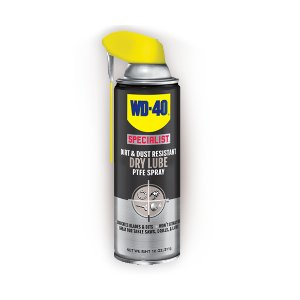 WD-40 Dirt & Dust Resistant Dry Lube PTFE Spray